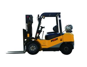 3.5 Ton LPG Forklift Truck with Nissan K25 pictures & photos
