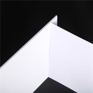 Non-Fluorescence White Rigid PVC Core Sheet for Normal Card pictures & photos