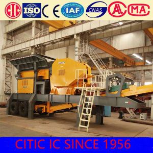 Gold Mining/Granite Mobile Jaw Crusher pictures & photos