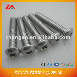 High Quality Stainless Steel Round Head Screw pictures & photos