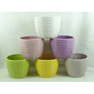 Popular Designs Garden Decorations Ceramic Graden Flower Pots