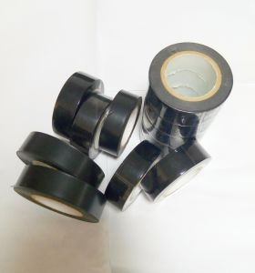 Black Fireproof PVC Insulated Tape pictures & photos