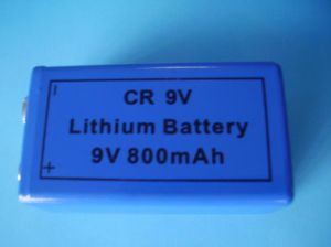 A9VP Limno2 Battery/9V Primary Lithium Battery CR9V pictures & photos