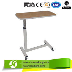 Hospital Adjustable Over Bed Table (CE/FDA/ISO) pictures & photos