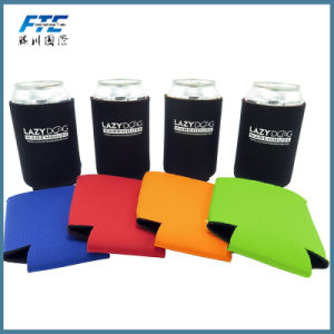 OEM Custom Printed Bottler Neoprene Insulated Can Cooler pictures & photos