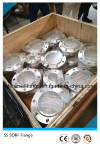 ASTM Forged Sorf Stainless Steel Ss304/Ss316 Flange pictures & photos