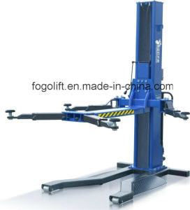 Single Post Car Lift/ Car Hoist Lifting/Car Lift Tire Change pictures & photos