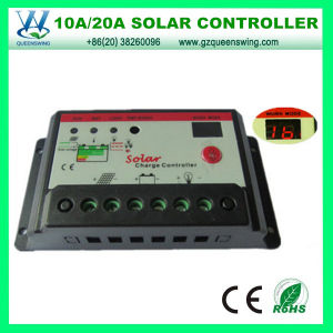 Auto12V/24V 20A Solar Charge Controller for Solar Power System (QWP-1420T) pictures & photos