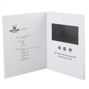 5 Inch Video Greeting Card