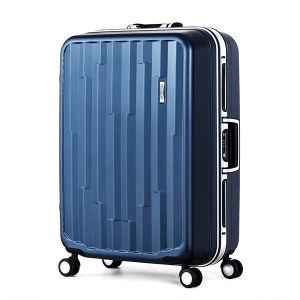 100% Pure PC Aluminum Frame Hard Unisex Suitcase