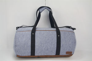 2017 New Outdoor Casual PU Travel Bag with Cloth Fabric pictures & photos
