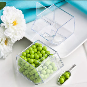 Floor Stand Nut Peanut Dispenser Plastic Scoop Acrylic Candy Container pictures & photos