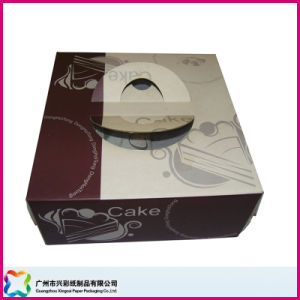 Folding Paper Packaging Box for Food/ Chocolate/ Candy/ Cake (XC-3-012) pictures & photos