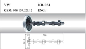 Auto Camshaft for VW (040.109.021.12) pictures & photos