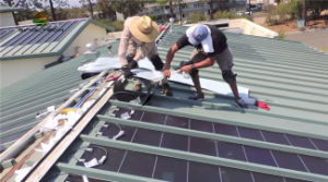 72 Watt Thin Film a-Si Flexible Solar Laminate for Metal Roofing pictures & photos