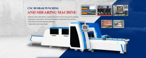 CNC Busbar Punch and Shear Machine pictures & photos