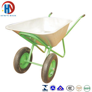 Zinc Plated Tray Wheel Barrow (WB-6404A) pictures & photos