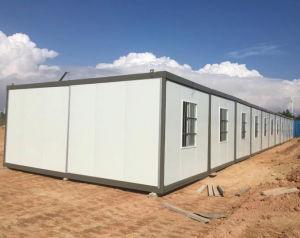 High-End Polyurethane Sandwich Panel Container Bedroom with Bathroom pictures & photos