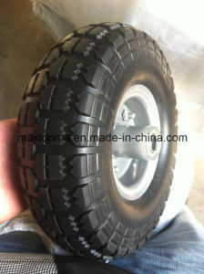 350-4 China Maxtop PU Foam Wheel pictures & photos