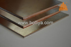 Copper Plate Composite Panel CC-001 Red Copper pictures & photos