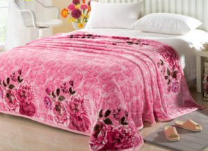 Thickening Single, Double, King Size Printed Flannel Blanket Polyester Blanket (SR-B170316-18) pictures & photos