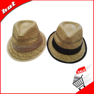 Straw Hat Hollow Grass Hat Beach Hats for Men pictures & photos