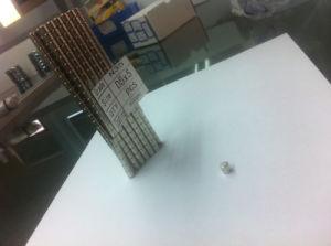 Permanent NdFeB Magnet Permanent magnet N42 N35 d5X5mm D5X5mm pictures & photos