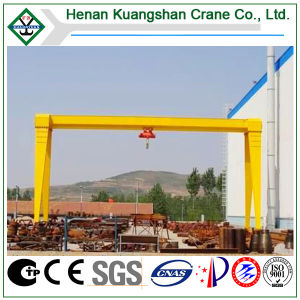 Single Girder Gantry Crane with Electric Hoist (MH model) pictures & photos