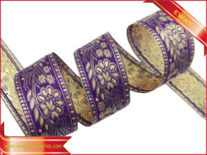 Woven Elastic Clothing Tape Printed Jacquard Tape pictures & photos