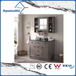Plywood Vanity Cabinet with Undermount Ceramic Basin (ACF8906) pictures & photos