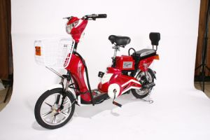 Electric Bicycle Powered by Both Battery & Generator