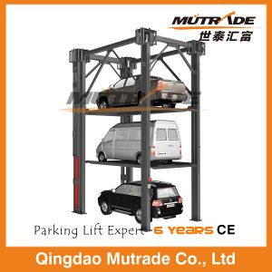 Mechanical Auto Elevator Car Stacker System Four Post Parking Lift pictures & photos
