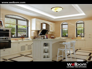 2015 Welbom Hot Sale Classic Solid Wood Kitchen Furniture pictures & photos
