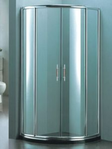 Sanitary Ware Aluminium Frame Simple Shower Enclosure (H007D) pictures & photos