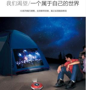 Mini Smart Pocket Multimedia Projector for Home/Office/Outdoor (X9) pictures & photos