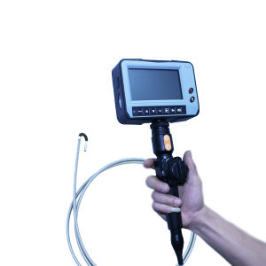 Portable Industry Videoscope with 2-Way Articulation, 5.5mm Camera Lens, 5.0′′ LCD, 3m Testing Cable pictures & photos