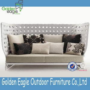 SGS PE Rattan Outdoor Furniture Outdoor Leisure Sofa