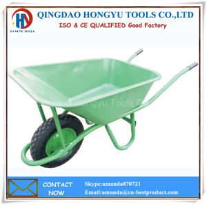 90L Metal Tray 4.00-8 Tyre Wheel Barrow pictures & photos