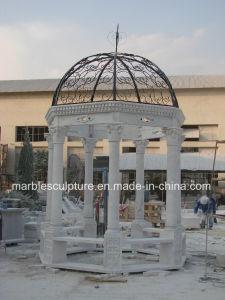 Antique Stone Marble Garden Gazebo for Outdoor Garden Decoration (SY-G001) pictures & photos