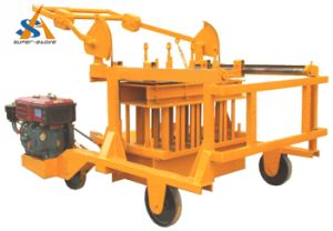Moveable Egg Laying Block Making Machine with Diesel Engine pictures & photos