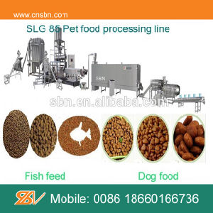 Fully Automatic Dog Food Pellet Making Machine pictures & photos