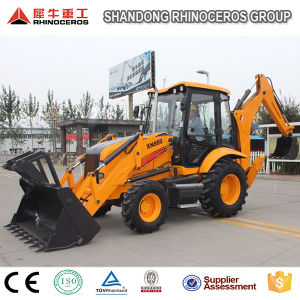 New High Quality Backhoe Loader 8t with Cummins Engine & Carraro Axle pictures & photos