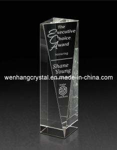 2012 Hight Quality Crystal Trophy