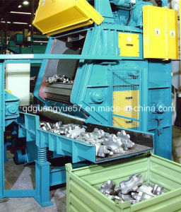 Rubber Belt Type Tumble Shot Blasting Machine pictures & photos