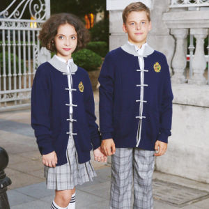 Sweater Designs for Kids Hand Knitted School Uniform pictures & photos