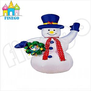 Hot Sale Cute Ce Inflatable Snowman Model pictures & photos