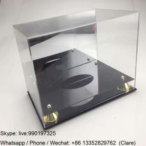 Middle Size Acrylic Basketball Display Boxes pictures & photos