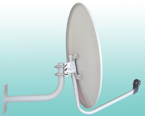 Ku Band 75cm with Satellite Dish Antenna Wall Mount pictures & photos
