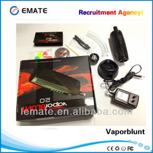 New Design Multipurpose E-Cigarette Electronic Vapor Vaporblunt 2.0 Dry Herb Vaporizer with Temperature Control System (VaporBlunt 2.0)