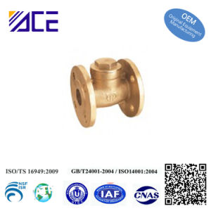Custom Forged Brass Flange Valve pictures & photos